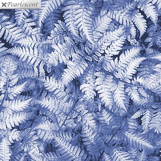 Pearl Ferns Slate Gray