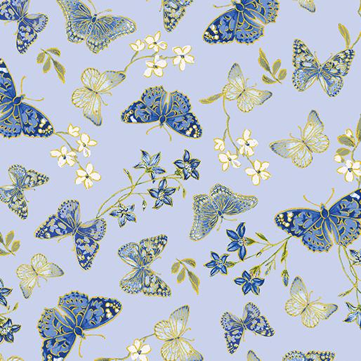 Kanvas Studio - Blue Symphony Butterfly Blue - 7790M - 05