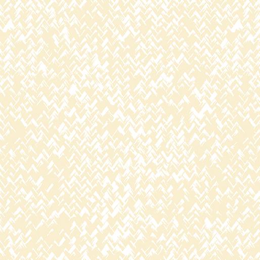 Zig Zag Texture White/Ecru