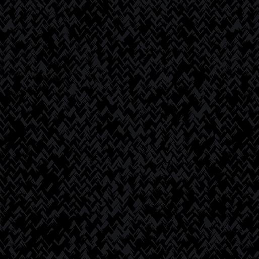 Zig Zag Texture Black/Black