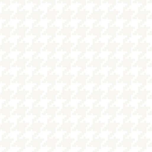 Benartex Better Basics 7798-09 Large Houndstooth White/White