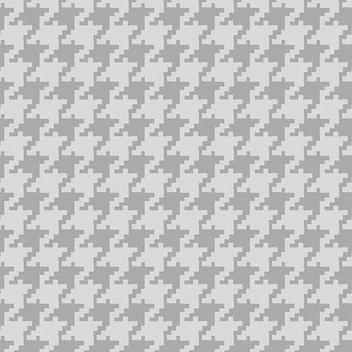 Large Houndstooth Dove Gray