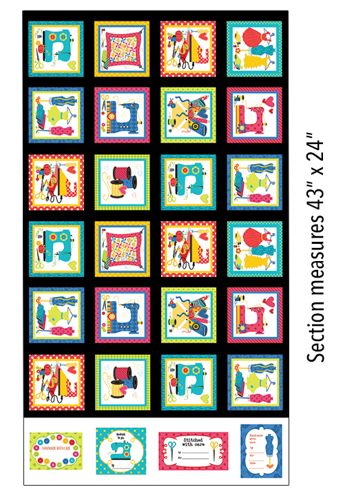 Sew Excited Boxes - Multi - Panel