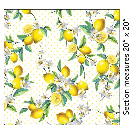 KAN- Lemon Fresh Bouquet White
