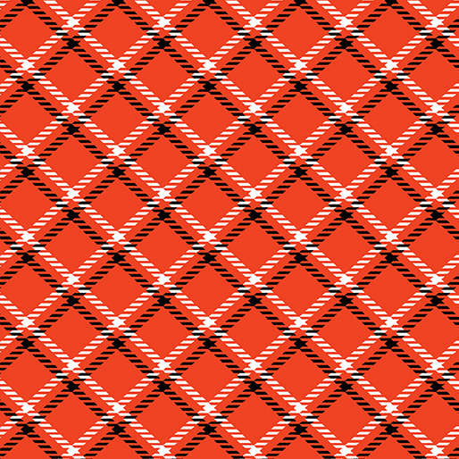 Dottie For Scottie Plaid Red 7891 10