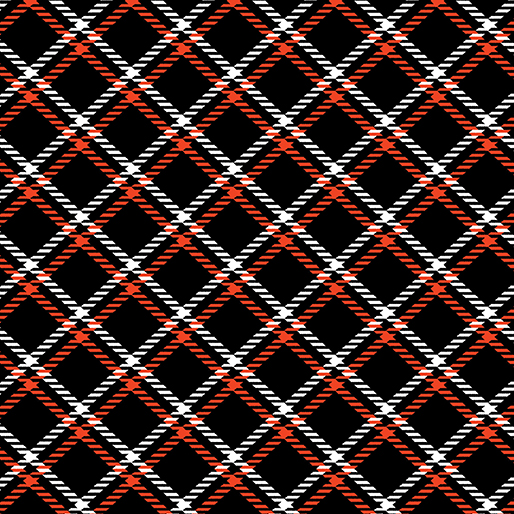 Dottie For Scottie Plaid Black 7891 12