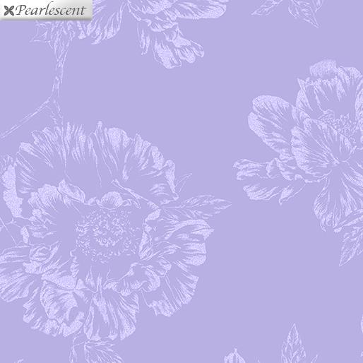 Violet Twilight - Pearl Shadow Flowers -  Lilac - 7922P-60