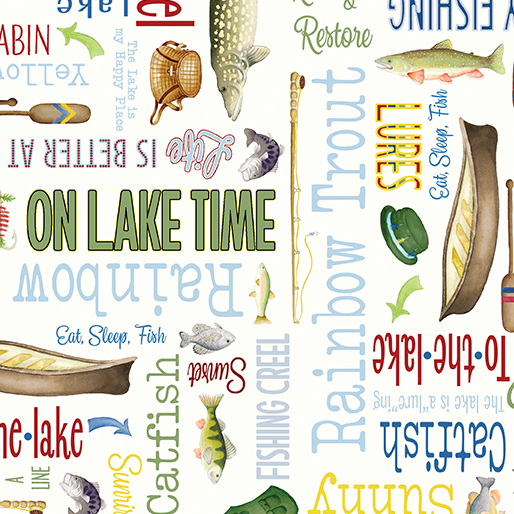 Lakeside Words Cream