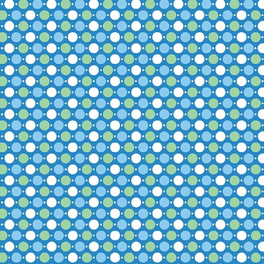 Hop Dot Blue - Toadily Cute