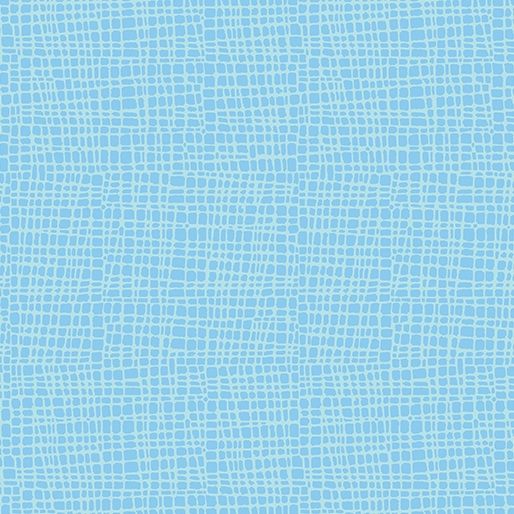 Toadily Cute --  17940-84  Crosshatch -- Turquoise
