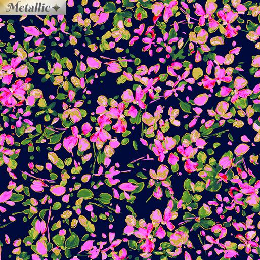 Petal Party Navy/Pink