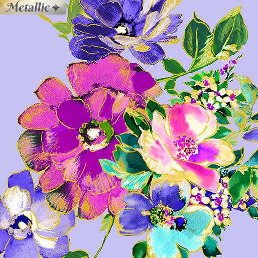 Bouquet Wishes Light Peri 7943M-05