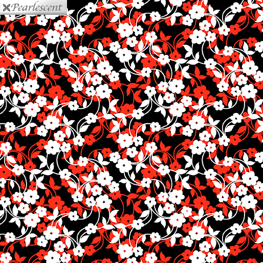Poppy Promenade - Mini Flower Dance - Red - 7984P-10