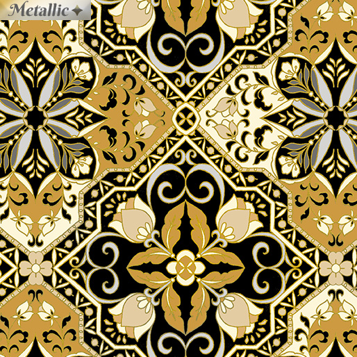Medallion Magic Black/Gold