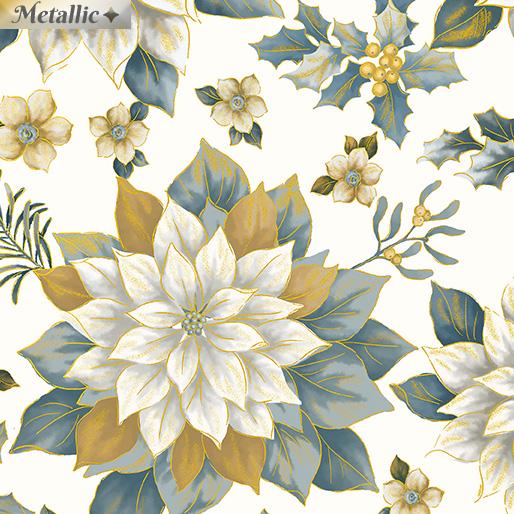 Treasured Poinsettia CreamGold