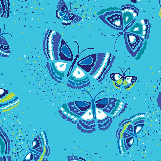 Island Butterfly Aqua