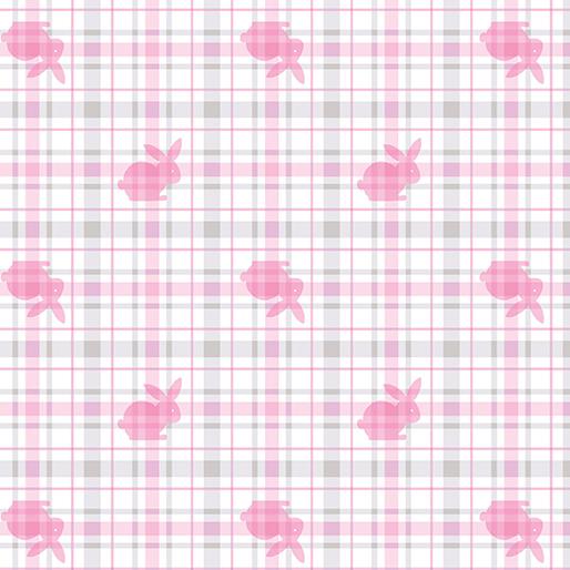 Bunny Plaid Pink