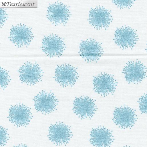 Floating Dandelion White/Aqua