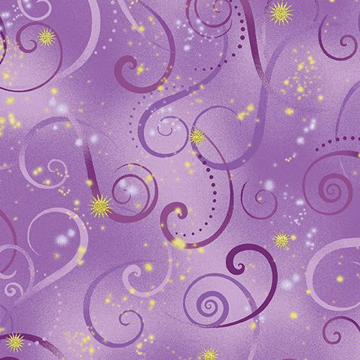 Swirling Sky Violet