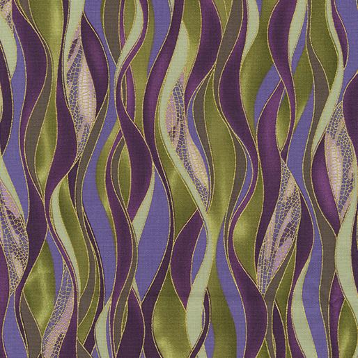 Dancing Waves Olive