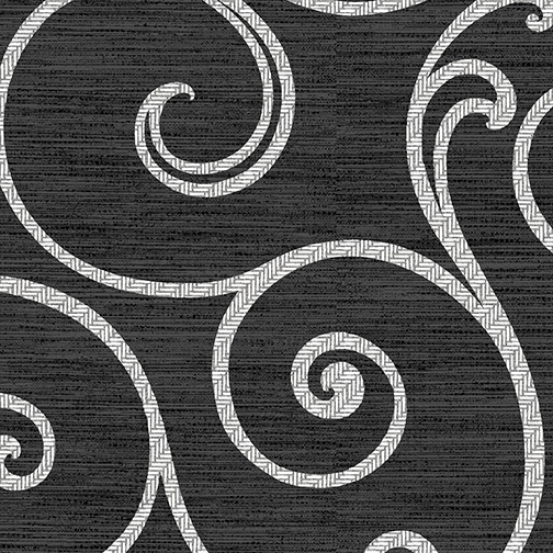 Ceramic Swirl Charcoal/White 8525-99