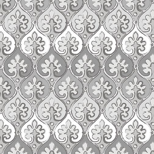 Hourglass Mosaic Dove Gray