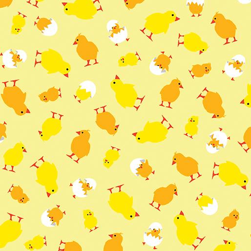 Here Chick Chick Yellow