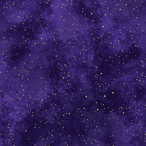 New Hue Metallic Purple/Gold 8673M-66
