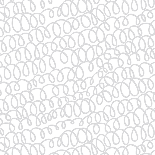 08709 09 Woolly Bully White/Silver for Kanvas Studio. 100% cotton 43 wide