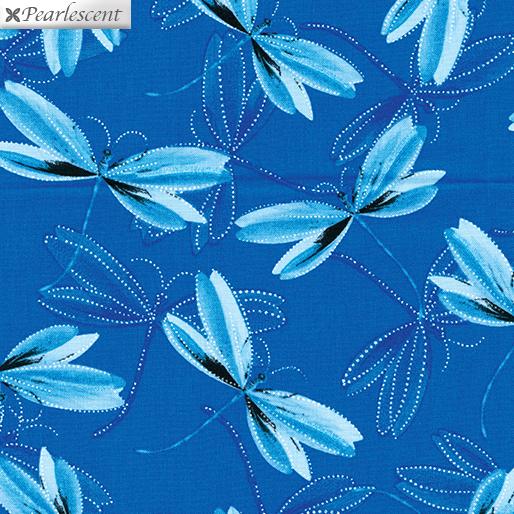 Dragonfly Dream Peacock Blue