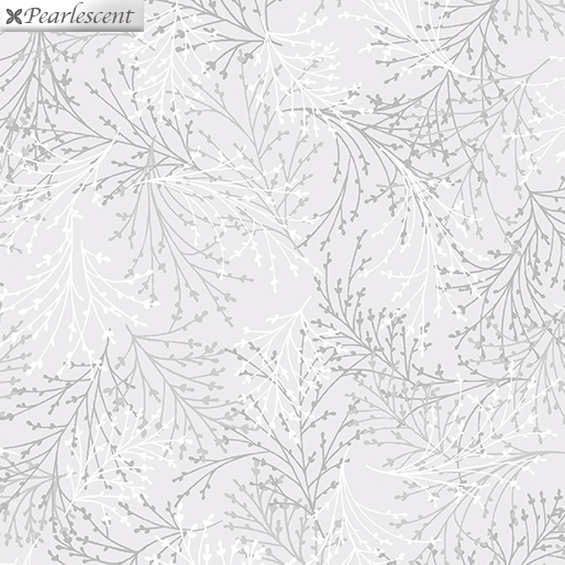 ESSENCE OF PEARL SPRIGS WHITE METALLIC