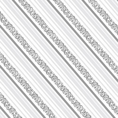 Gift Box Stripe Silver
