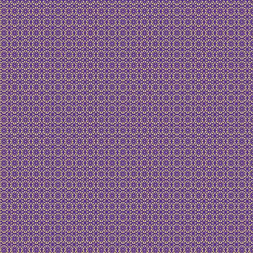 Mini Floral Foulard 8803M-66 Purple