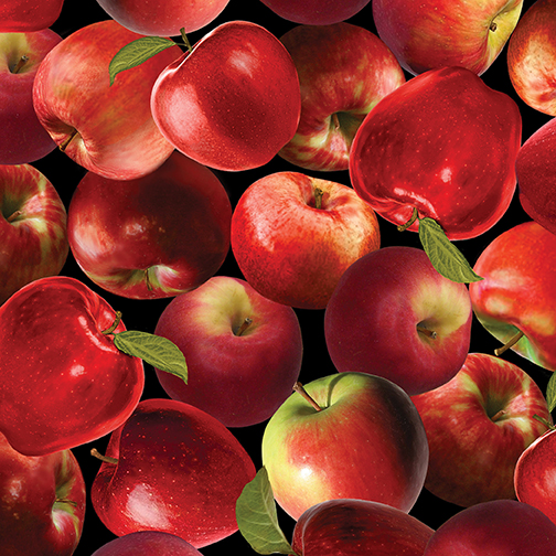 PACKED APPLES RED 08851-10 KANVAS
