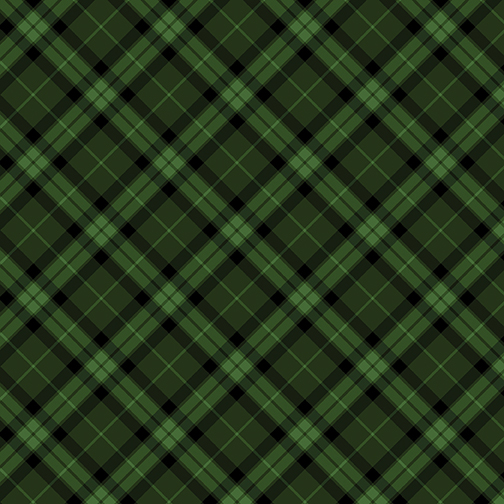 Gala Bias Plaid Hunter Green