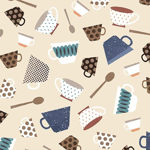 Cups & Spoons Cream