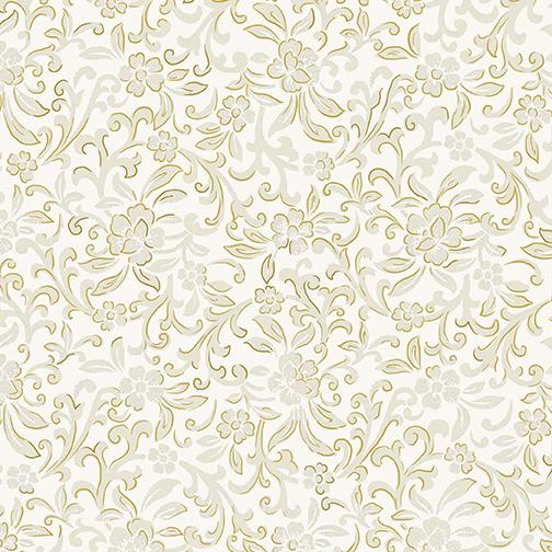 Garden Scroll Cream