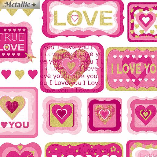 True Love Patch White