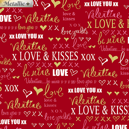 Love Words Red
