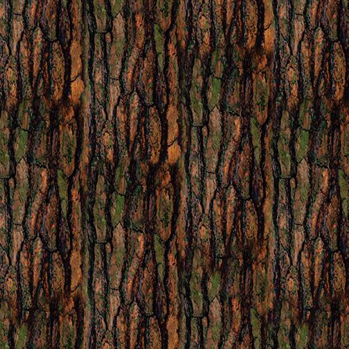 KAN- Nature Walk Bark Texture Brown/Green