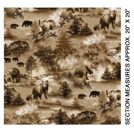 Bear Scenic Natural - 8972-07