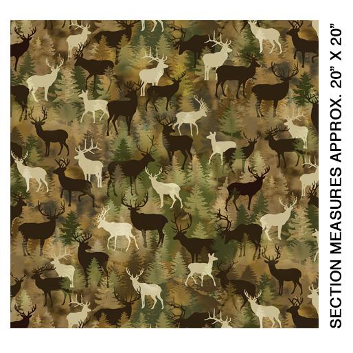 Camo Deer Moss - 8974-88