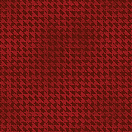 Wool Check Red