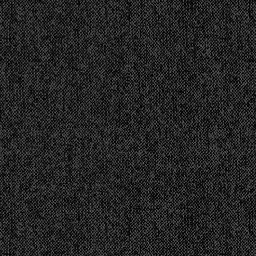 Wool Tweed - Black - 9618-12
