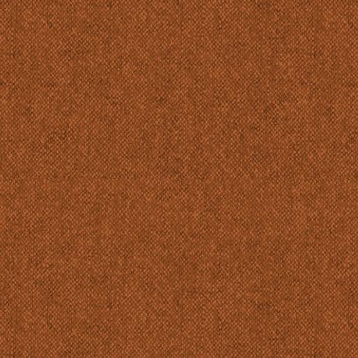 Wool Tweed Flannel - Cinnamon