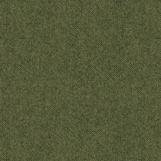 Winter Wool : Wool Tweed Green - #09618-44