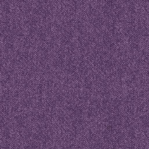 Wool Tweed Plum