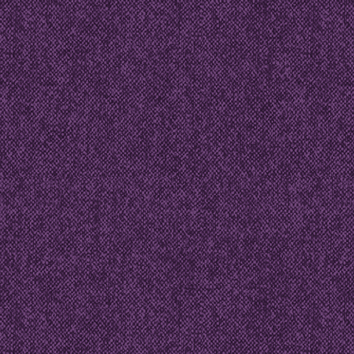 Winter Wool Tweed Eggplant