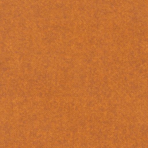 Wool Tweed Flannel - Orange