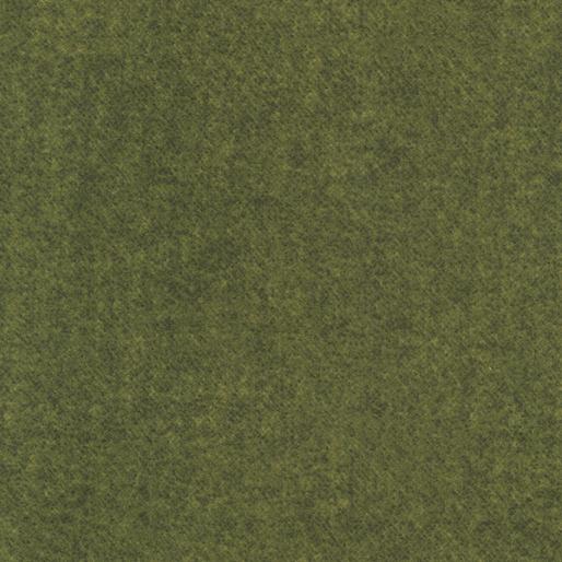 Winter Wool Flannel - Green - 9618F-44